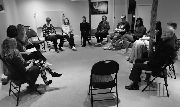 Meditation class, Burlington, Ontario